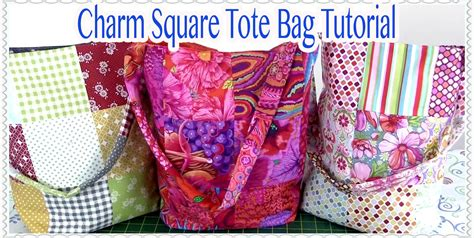 Easy Patchwork Bag Patterns - patchwork quilted tote bag fantastic details for every