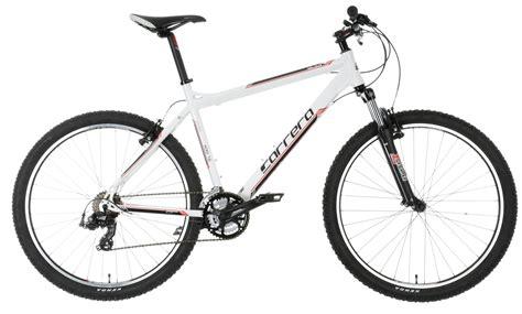 mens mtb carrera valour mens mountain bike bicycle mtb white 16