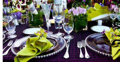 wedding table settings purple purple wedding table decor architecture interior design