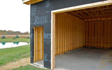 How To Frame A Garage Door by Framing For Garage Door Opening Techpaintball