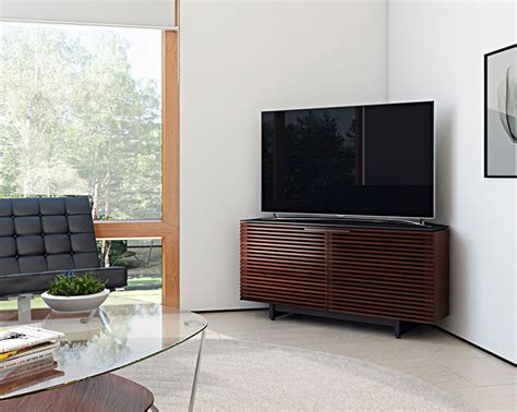 corridor 8175 corner media cabinet tv cabinets by bdi l