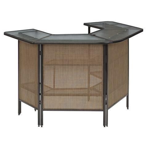 Patio Pub Tables Essential Garden Fulton Bar Table Limited Availability