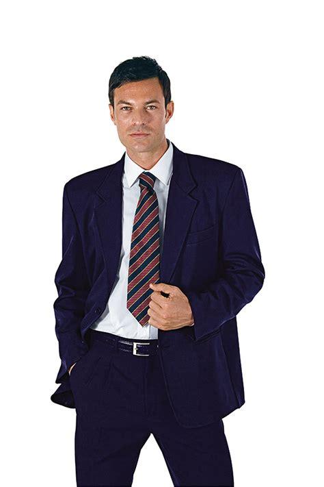 Poster Pas Cher 2962 veste classique homme bleu hotellerie veste uniforme