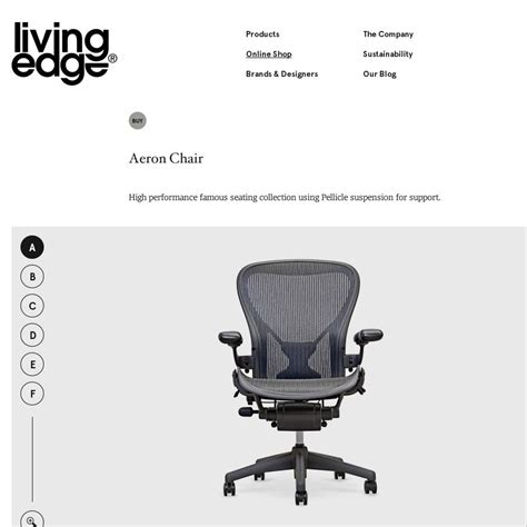 Herman Chairs Sydney by Herman Aeron Chair 990 Living Edge Was 1 150 Page 2 Ozbargain