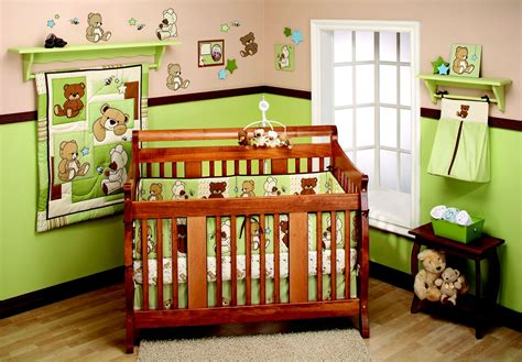 Nursery Bedding Sets Unisex Bedding By Nojo Dreamland Teddy Unisex 10pc Crib Set Baby Bedding Bedding Sets