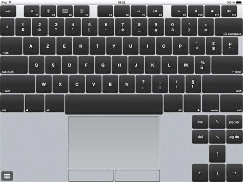 iphone keyboard layout azerty air keyboard transformer son ipad en clavier macplanete