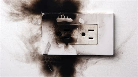 could your electrical outlet set your home on