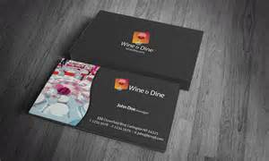 Restaurant Business Cards Templates Free business cards digital takeaway restaurants business