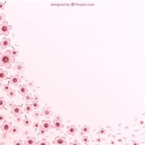 sfondi fiori di ciliegio sfondo rosa con fiori di ciliegio scaricare vettori gratis