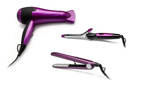 Hair Dryer Straightener Curler hair dryer curler straightener groupon