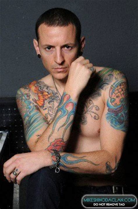 chester bennington tattoos chester bennington linkin park chester bennington