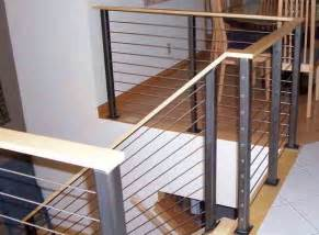 Banisters And Railings Home Depot Stair Cable Railing Modern Staircase By Ultra Tec