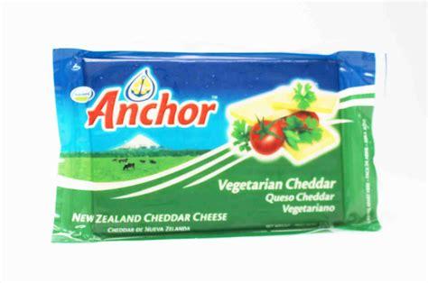 Anchor Cheddar By Moza Kitchen anchor vegetarian cheddar cheese 500g