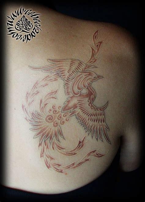 phoenix tattoo white ink phoenix tattoos phoenix and white ink on pinterest