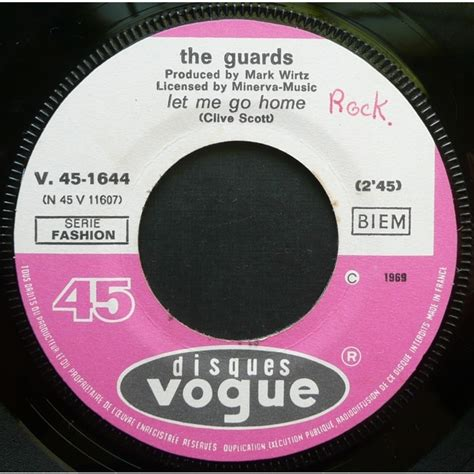 the guards let me go home 7inch sp for sale on