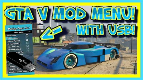 mod gta 5 online xbox 360 usb gta v mod menu tutorial no jailbreak using usb xbox 360