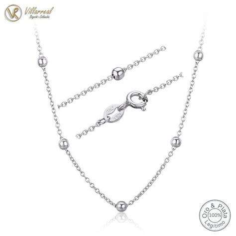 cadena en plata para hombre colombia cadena 100 plata de ley 925 genuina tejido eslab 243 n