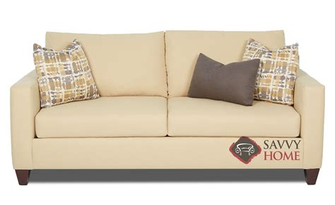 burbank sofa burbank fabric sofa by savvy is fully customizable by you