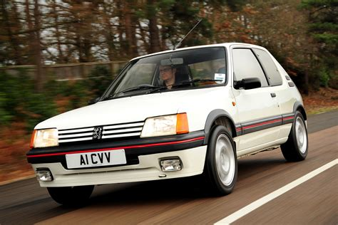 peugeot express peugeot 205 gti future classic cars that could make you
