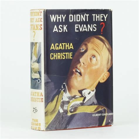 libro why didnt they ask why didn t they ask evans by christie agatha jonkers rare books