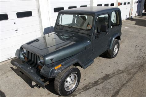 Jeep Wrangler 5 Door For Sale No Reserve 1994 Jeep Wrangler S Sport Utility 2 Door 2 5l