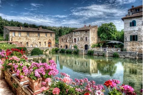bagno italy bagno vignoni and the val d orcia in tuscany visit tuscany