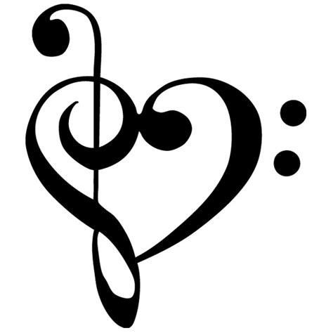imagenes de notas musicales en forma de corazon sticker nota musical coraz 243 n