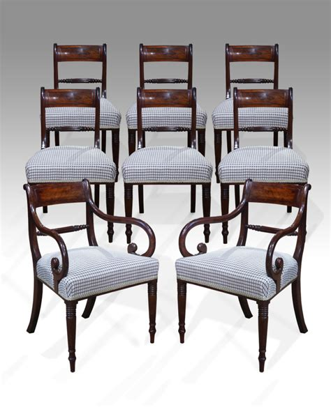 set of 8 antique dining chairs mahogany dining chairs