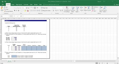 excel layout problem features for educators mylab finance pearson