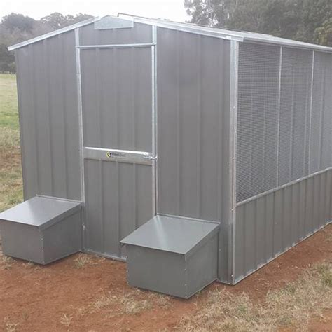 The Chook Shed by Gable Roof Chook Shed Steelchief Melbourne Sydney
