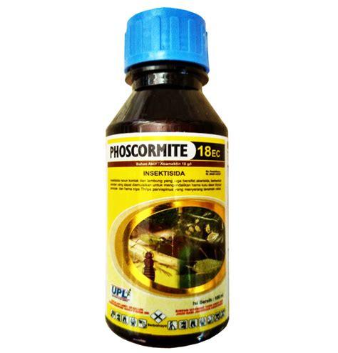 obat pertanian pembunuh serangga insektisida phoscormite 18ec 100ml sumber plastik