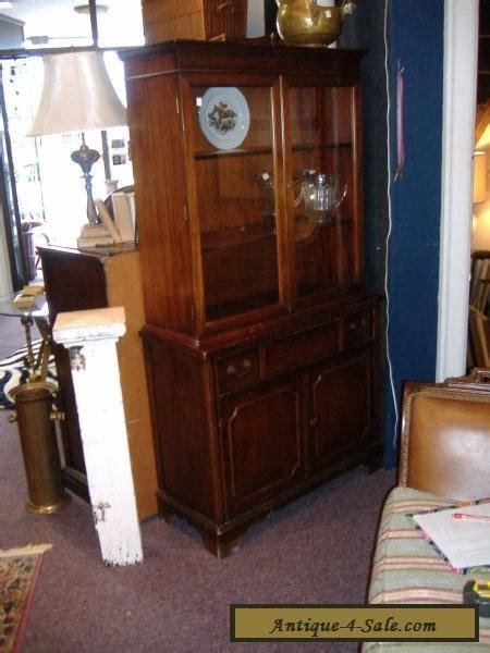 mahogany china cabinet for sale mahogany china cabinet closet glass door vintage antique