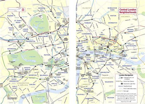 sections of london map london neighborhoods deboomfotografie