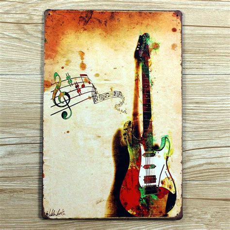 Wall Decoration 20cm X 30cm I Coffee retro painting wall decor painting tin plate signs