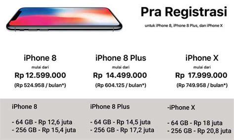 Harga Iphone Di Ibox sadis inilah harga resmi iphone x dan iphone 8 di