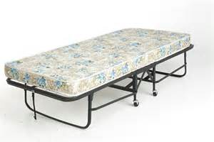 rollaway bed frame with 39 inch mattress by leggett platt