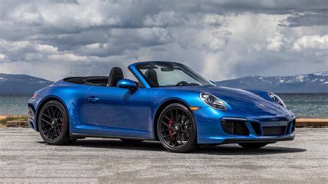 porsche 911 convertible 2018 2018 porsche 911 carrera gts first drive better in all