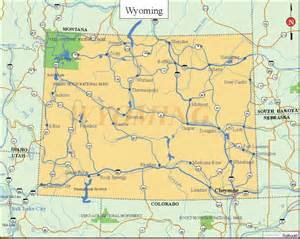 Map Of Wyoming State by Printable Us State Maps Printable State Maps