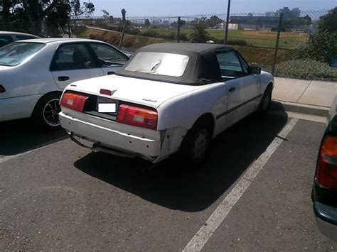 electric and cars manual 1993 mercury capri security system find used 1993 mercury capri base convertible 2 door 1 6l white in chula vista california