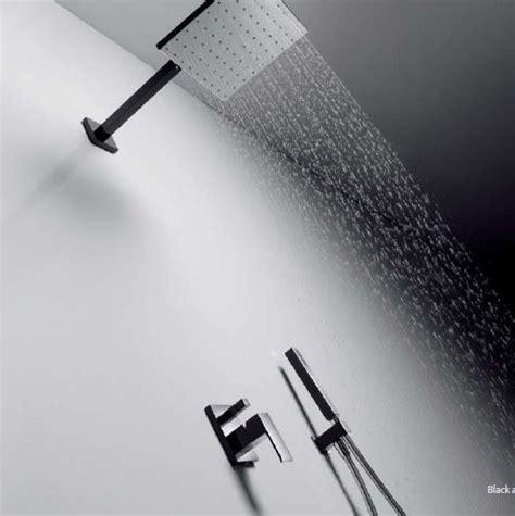 schwarze duscharmatur armaturen dusche unterputz ambiznes