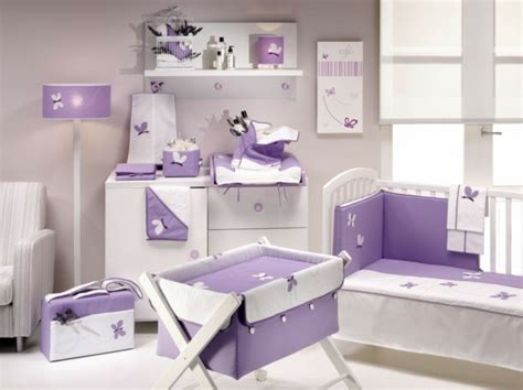 chambre fille violet deco chambre bebe fille violet 9 exemple systembase co