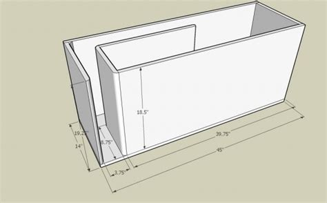 how to put a box together how to build a subwoofer box learning center sonic