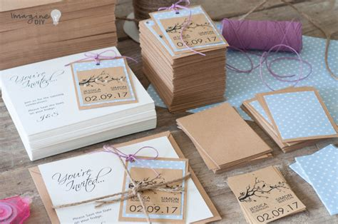 diy wedding save the date how to make pretty save the date cards with tags