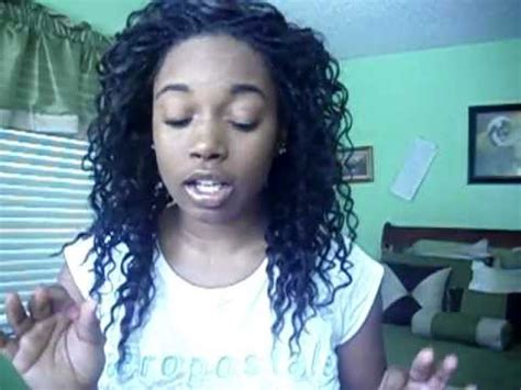 micros braids wirh a sewin in a ponytail micros with sew in youtube