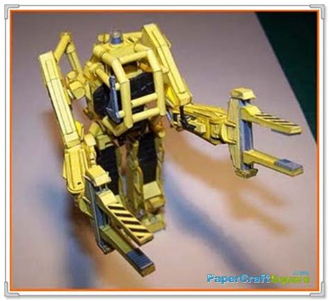 Aliens Papercraft - aliens papercraft p5000 power loader
