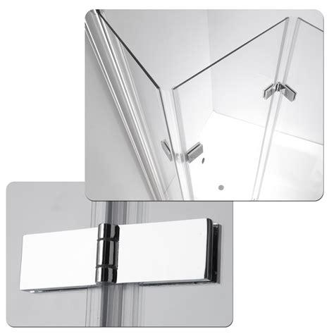 Shower Screen Door Parts Shower Enclosure Bathtub Folding Shower Screen Glass 3 Pivoting Parts Nano Ebay