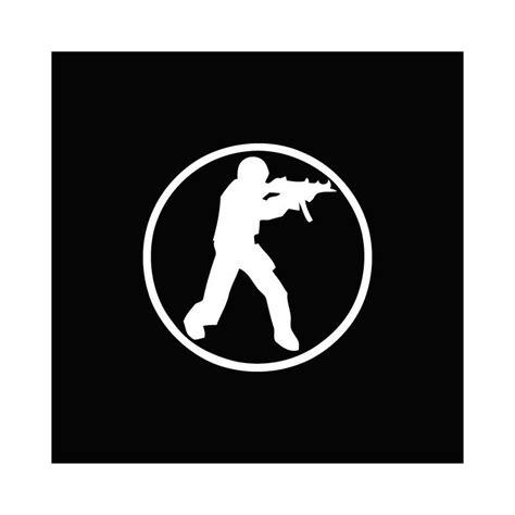 Tees Cs shirt counter strike blanc sur noir
