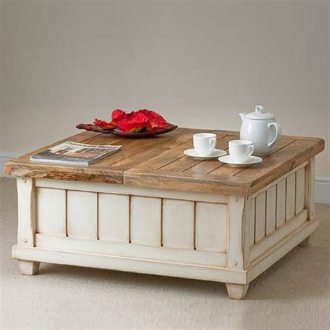 modern white coffee table with storage coffee tables ideas