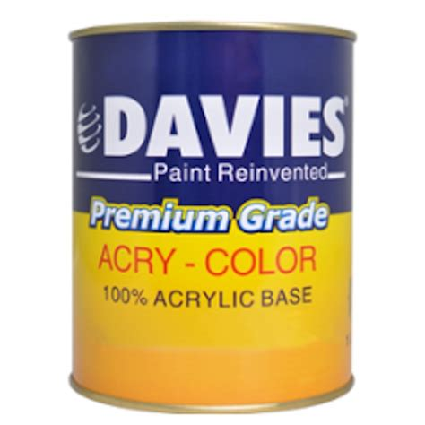 davies acry color silver hardware