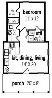 guest house floor plans 500 sq ft hickory pass 500 7104 1 bedroom and 1 5 baths the